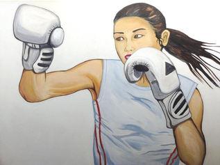 Asian boxer