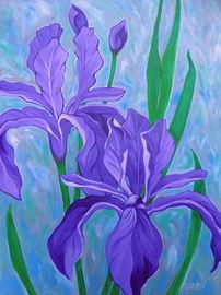 Purple Irises
