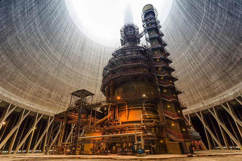 Matrix Project Management, Nuclear project management, PMO, Cooling tower