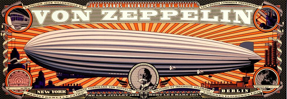 BENITO, Zeppelin crépuscule
