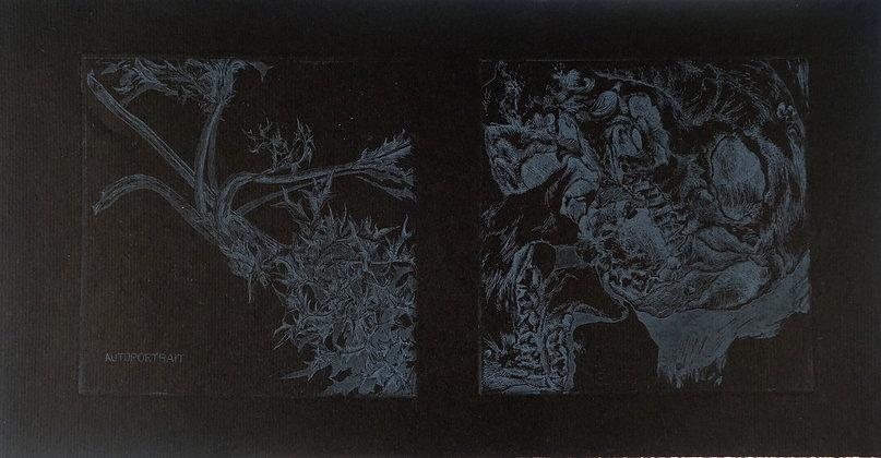 MORETON Myriam, Diptyque noir 1