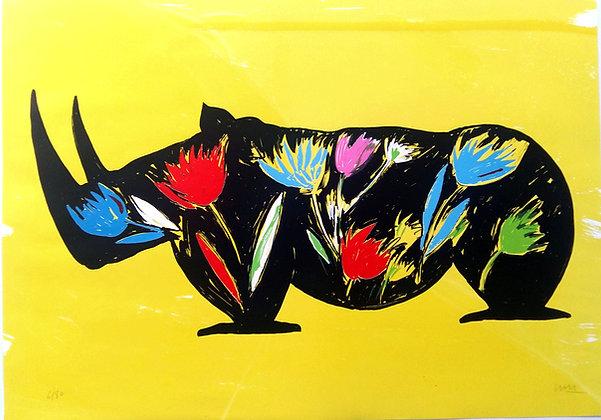 BARRY Jacques, Rhino Fleurit