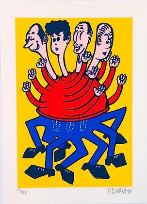 DIROSA Hervé, 4 têtes