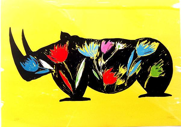 BARRY Jacques, Rhino fleurs