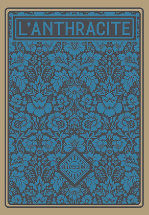 L'ANTHRACITE bleu, collection d'estampes