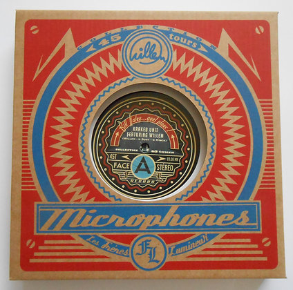 WILLEM & BENITO, Coffret Microphones 45 tours