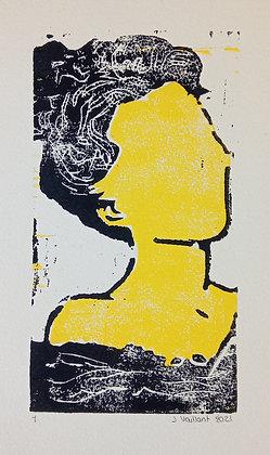 VAILLANT Jeanne, Yellow woman in bath