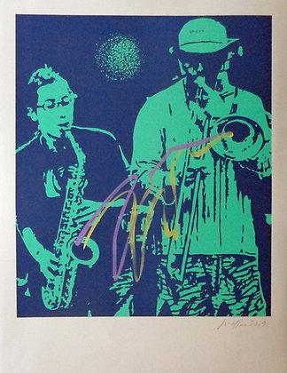 MESSAC Ivan, Jazz de rue