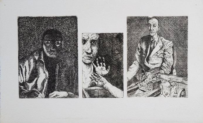 MACHETA Gabriel,Petites gravures