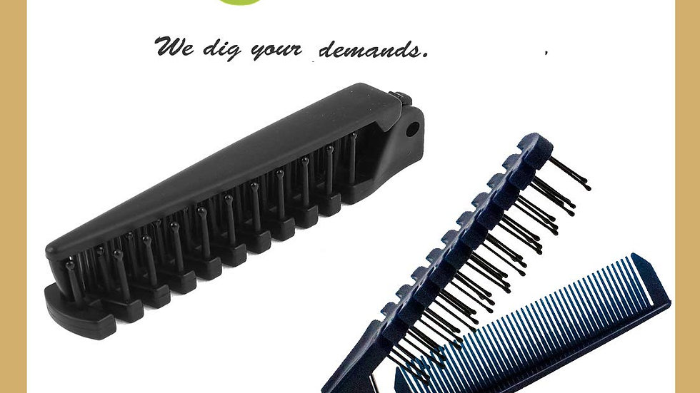 All In One BEARD Grooming Wide-Tooth Comb & Fine-Tooth Comb