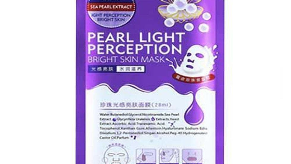 Pearl Light Perception Bright Skin Moisture Nourish UNISEX FACIAL MASK