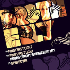 Single release Find First Light artwork Mitchy Bwoy