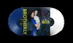 Blue and White Vinyl