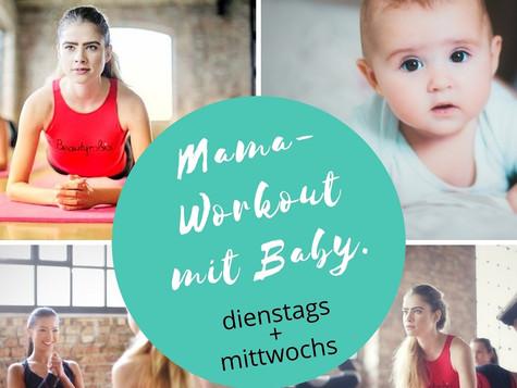 Mom-Fit-Kurse mit Baby