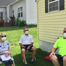 We wore our masks