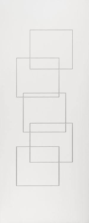 Квадрат белая эмаль