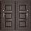 Thumbnail: Форпост 730 (строительная дверь)