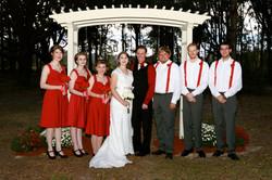 Red Themed Wedding, Florida