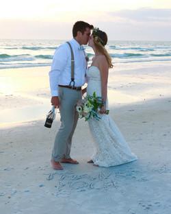 Beautiful Beach Wedding Photo, FL