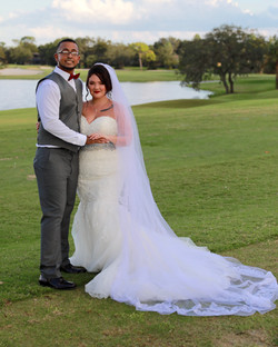 Beautiful Bride and Groom, Florida