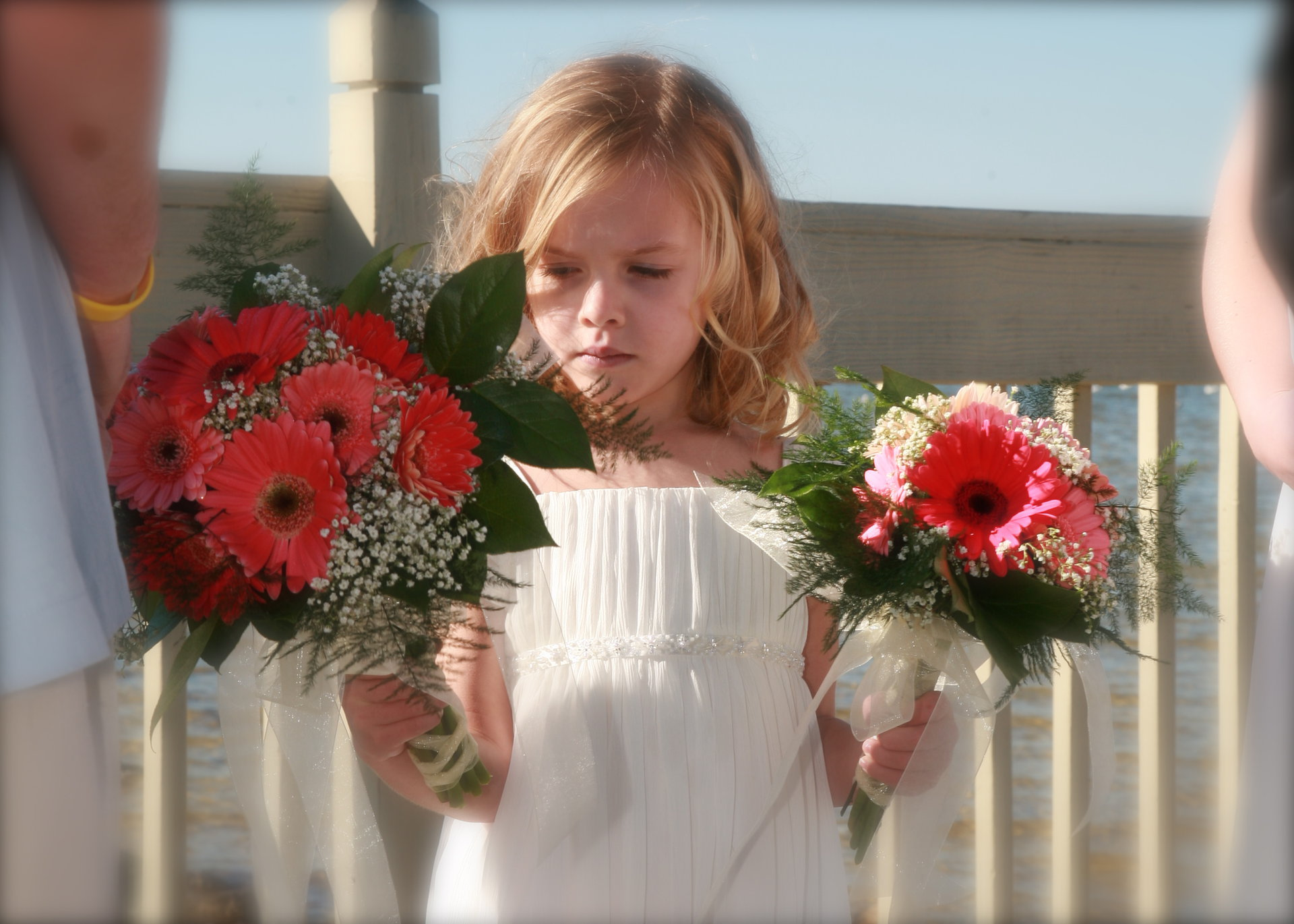 Little Girl with Bouquets, Florida