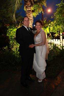 Happy Bride and Groom, Florida