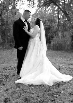 Wedding, Black and White, Florida