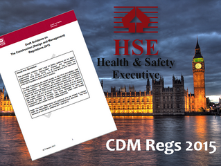 CDM Regulations 2015 are approved
