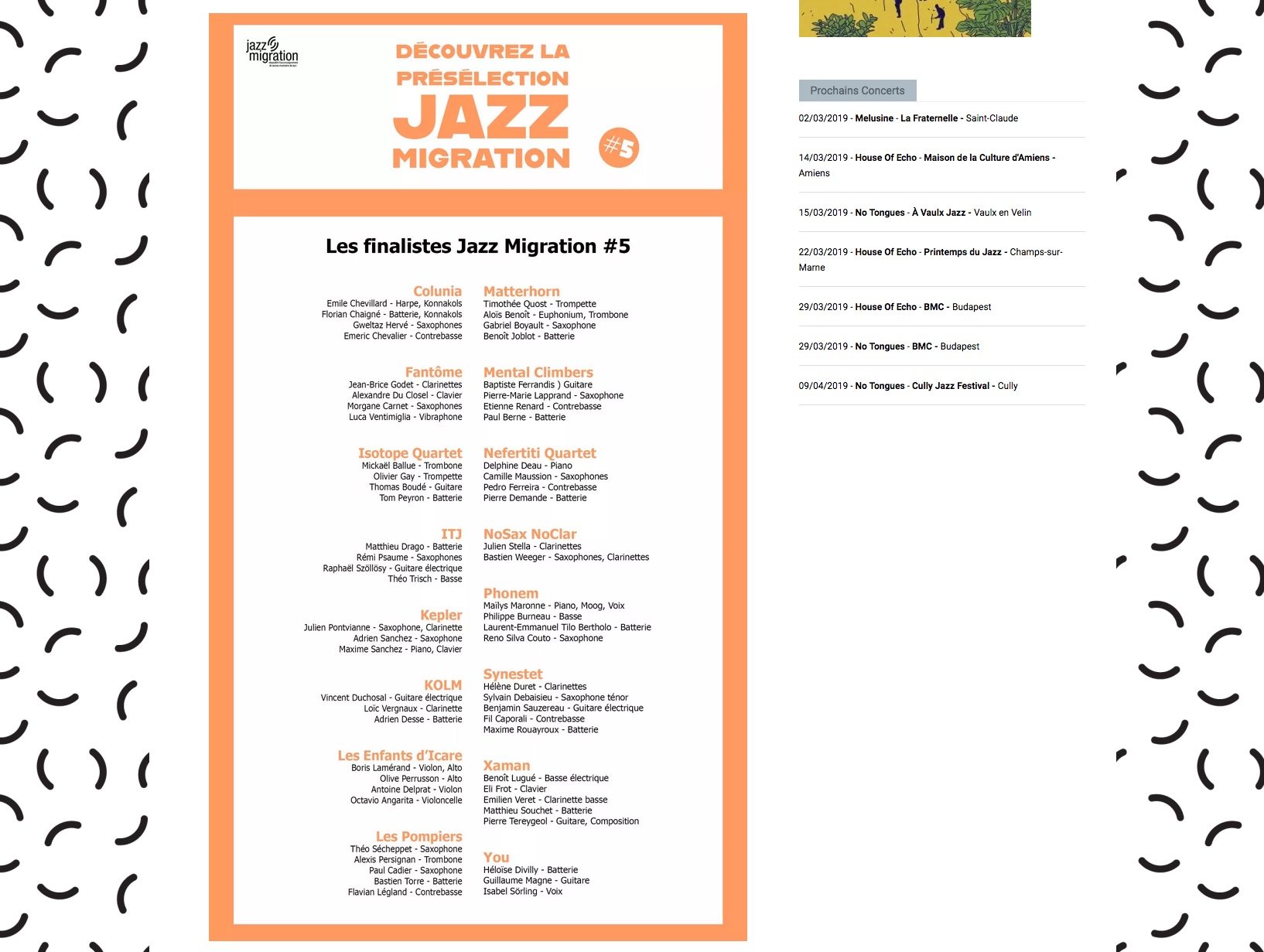 Jazz Migration #5