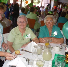 Senior Citizens celebrating Christmas
