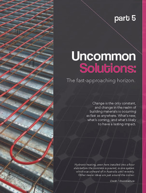 Part 5: Uncommon Solutions