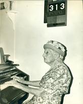 Jessie Manners local Organist