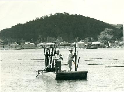 Myler Oyster barge