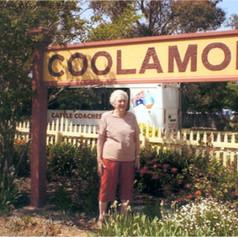 Brenda at Coolamon Station in the Riveri