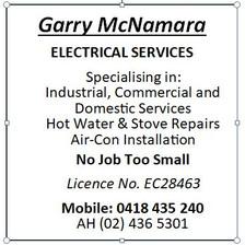 Garry McNamarra