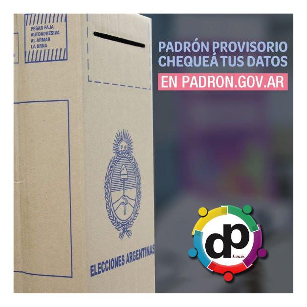 La Defensoría del Pueblo de Lanús ya está habilitada para informar, asesorar y gestionar los reclamos de los ciudadanos de Lanús ante la Cámara Nacional Electoral.