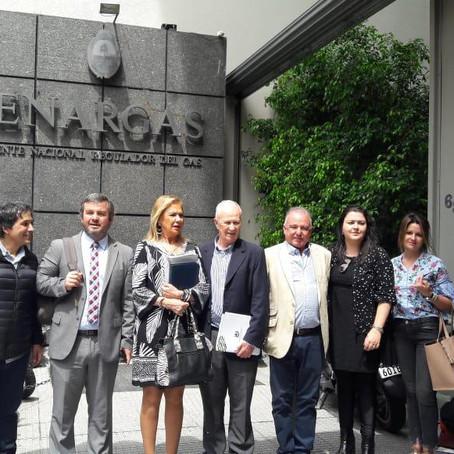 Los Defensores del Pueblo nucleados en ADPRA se reunieron con el directorio del ENARGAS