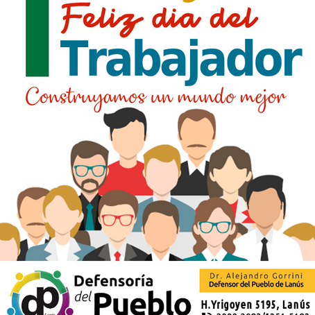 1°de MAYO - Día del Trabajador