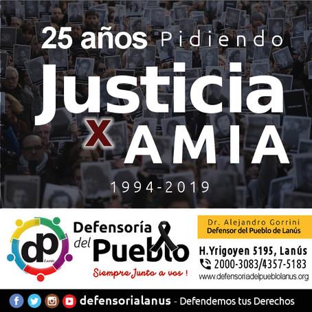 AMIA : 25 años pidiendo justicia