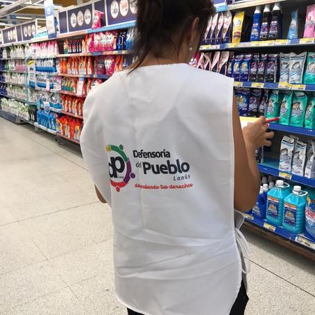 La Defensoría del Pueblo de Lanús monitorea precios cuidados