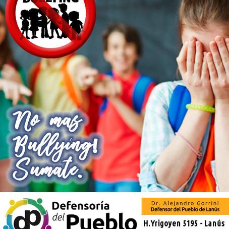 Los chicos volvieron a clases, los grandes estamos en alerta para terminar con el Bullying