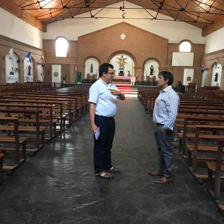 La Defensoría en los barrios: recorrimos Villa Jardín y visitamos la Parroquia Cristo Redentor