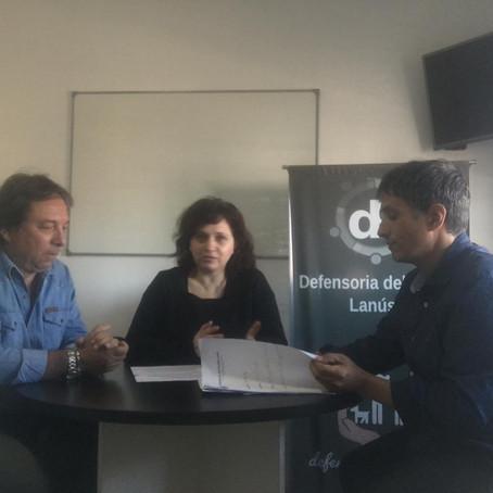 Reunión de trabajo junto a la Def. del Pueblo de la Pcia. de Bs.As. sobre género, diversidad y niñez