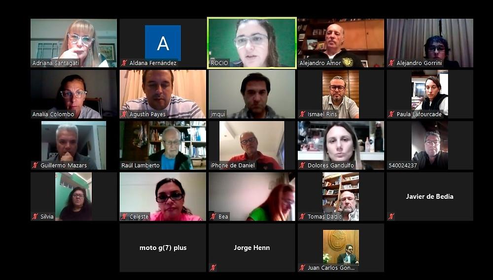 La reunión de ADPRA se realizó en forma remota.