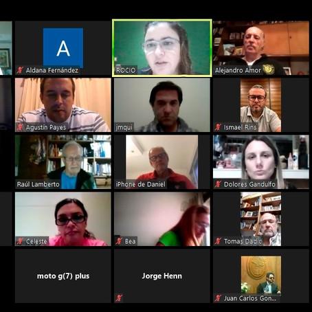 El Defensor del Pueblo Lanús, el Dr. Alejandro Gorrini participó de una nueva reunión de ADPRA