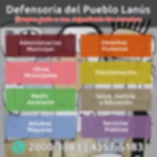 Defensoría del Pueblo de Lanús, Teléfono