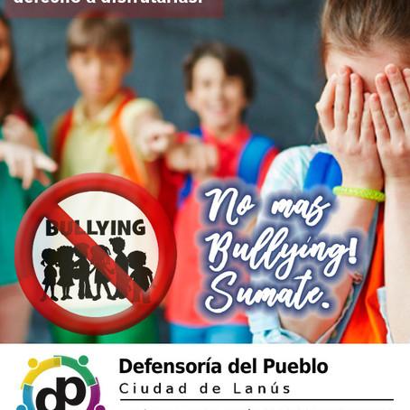 2 de Mayo: Día Mundial contra el Bullying. El acoso escolar no es cosa de chicos.