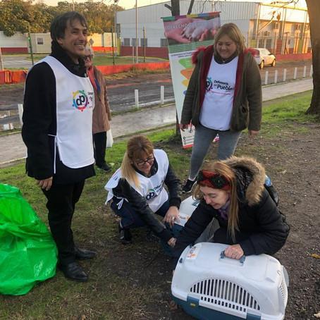Realizamos la primera campaña de concientización acerca del cuidado de los animales