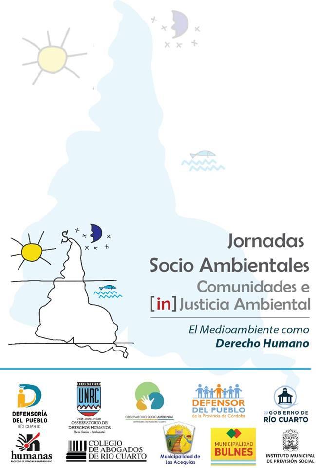 la Defensoría del Pueblo de Lanús   se encuentra participando en las Jornadas Socio Ambientales, Comunidades e (in) Justicia Ambiental