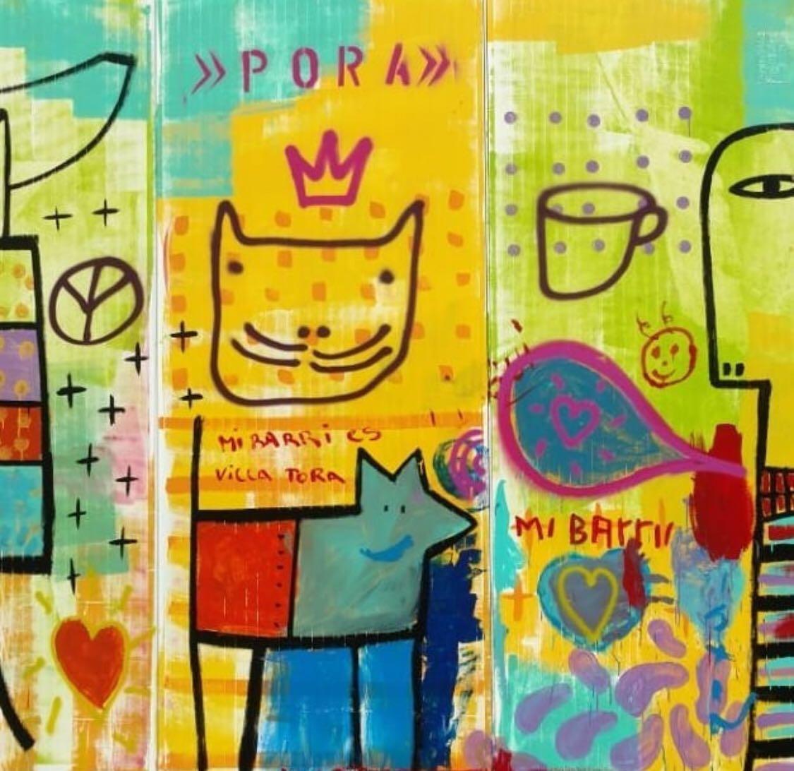 Mural de Milo Lockett para el Estado en tu Barrio